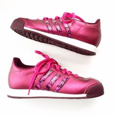 Adidas Pink Somoa Sneakers Excellent condition with no rips or stains. First picture filtered. Size 8. Adidas Shoes Athletic Shoes