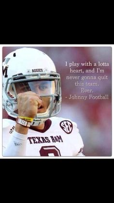 Never under estimate the power of an Aggie!!!!