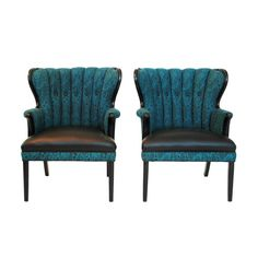 Sleek and sophisticated are the words that come to mind when you look at these new Sultanchic chairs. These original mid century modern accent chai. Wingback Accent Chair, Accent Chairs, Vintage Furniture, Home Furniture, Mid-century Modern, Contemporary, Mid Century Chair, Design Projects, Dining Chairs