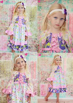 Rosanna's corset peasant dress! perfect for princess dress and fall. PDF pattern from create kids couture!