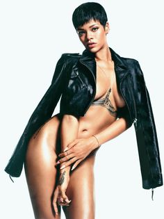 Cool Hot Hollywood Celebrity Rihanna Nude For GQ .  I know Ive ragged on Rihannas new tattoo a lot, but the more I see it, the more its starting to grow on me. Probably because it means Im also seeing Rihanna topless. Its all about positive associations. Anyway, GQ somehow managed to get Rihanna pretty much naked for this photoshoot, and its really helping me appreciate all of her body art. Now, ... 9 Hi-Resolution images in gallery.