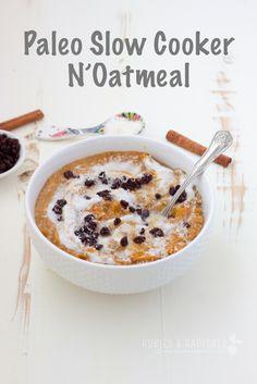 Paleo Slow Cooker Oatmeal