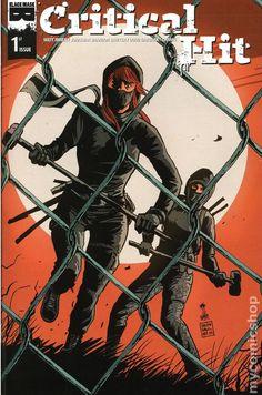 Critical Hit (2014 Black Mask) 1D Black Mask book covers Modern Age 1