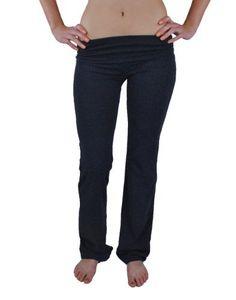 Zenana Women`s Fold Over Cotton Spandex Lounge Pants $5.95 (73% OFF)