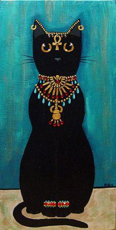 Kilkenny Cat Art   Bastet by kilkennycat