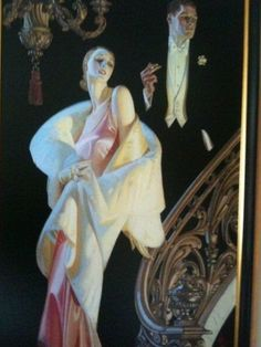 One of my favorite things hanging in our house! #Leindecker piece Absolutely Fabulous