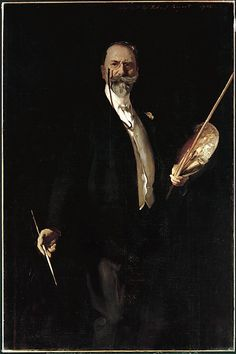 portrait of William M. Chase, N. A. John Singer Sargent (1856–1925)