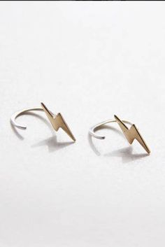 Bold feminine spirit with a touch of edge. Love these earrings!