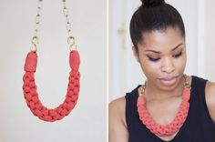 DIY | Straight Knot Necklace.