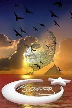 Şaheser Bir Güzel Resim ATATÜRK DEMEK TÜRKİYE DEMEK Republic Of Turkey, Great Leaders, Art Activities, Istanbul, Street Art, Father, Community, Culture, History