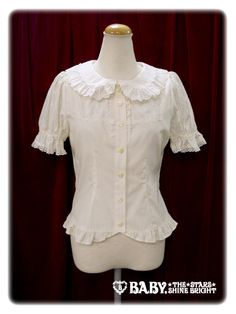 Fleur lace Blouse by Baby the Stars Shine Bright in ivory