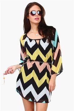 Necessary Clothing Fancy Nancy Dress - Multi