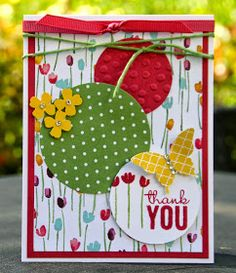 Krystal's Cards: Stampin' Up! Painted Petals Delightful Wild Rose