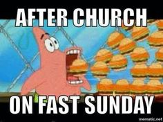 Fast sunday.... You know it's fast sunday when all I pin is food...