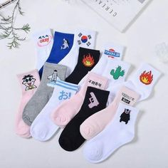 Women's Socks & Hosiery Socks Dedicated European And American Street Cotton Socks Small Yellow Duck Student Sports Skateboard Cotton Socks Quality Socks Online Discount