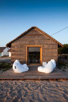 Fabulous Minimalist Small Resort House in Portugal