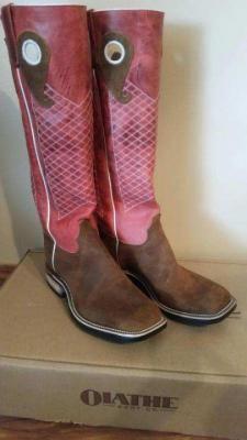 Olathe Tall Top Boots, custom tall tops