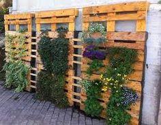 Resultado de imagen para jardin reciclado