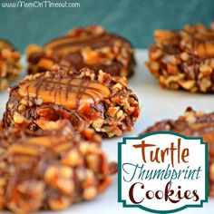 Turtle Thumbprint #Cookies Recipe