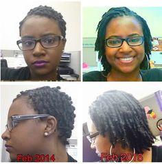 1 year loc progress Natural Hair Tips, Natural Hair Inspiration, Natural Hair Journey, Natural Hair Styles, Natural Beauty, Natural Afro Hairstyles, Dreadlock Hairstyles, Cool Hairstyles, Nattes Twist Outs