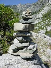 my next garden project - a cairn
