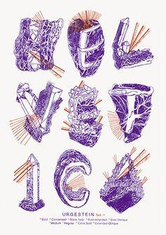 Shop - Helvetica Illustrated Riso Print - Paula Troxler   Slanted - Typo Weblog and Magazine