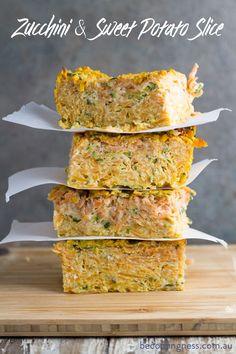 Zucchini-sweet-potato-slice