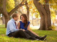 Fall Engagement Photographs