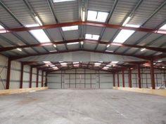 #Batiment #temporaire #modulaire par #legoupil industrie. Atelier de production de 2475 m².