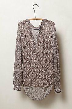 Reflected Flora Top #anthropologie
