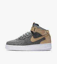 WMNS AIR FORCE 1 MID Air Force 1 Mid, Nike Air Force, Kicks, Product Launch, Sneakers Nike, Leather, Shoes, Fashion, Nike Tennis