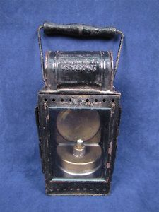 1957 German Railroad Signal Lantern Carbide Mining Lamp