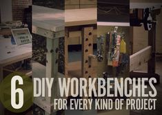 6 DIY Workbench Projects You Can Build in a Weekend