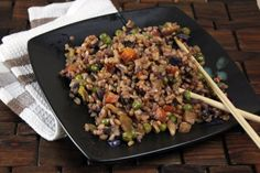 Vegetable Fried Rice | Easy Cookbook Recipes