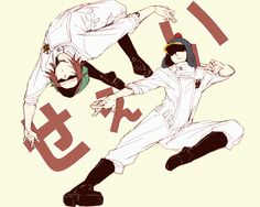 Heart Pirates- Shachi and Penguin