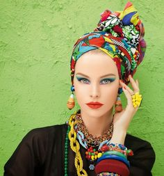 Head wrap...so beautiful!