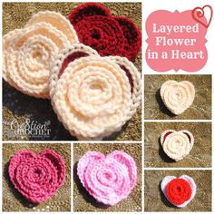 Multiple Valentines crochet patterns.....
