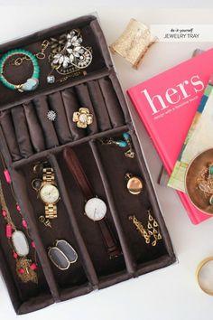 DIY: jewelry tray