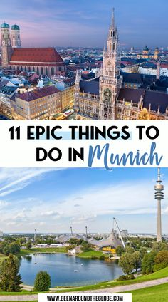 11 epic things to do in Munich. Here's all you need to know if you plan to visit Munich, Germany. Things to do in Munich | 3-day Munich itinerary | Places to visit in Munich | Things you have to see in Munich | Munich travel guide | How to spend 3 days in Munich | What to eat in Munich | Where to stay in Munich Cities In Germany, Visit Germany, Germany Travel, Visit Munich, Munich Germany, Road Trip Europe, Europe Travel Guide, Travelling Europe, Travel Guides