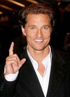 Matthew McConaughey aka my boyfriend.