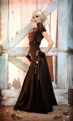 Steampunk Dress.