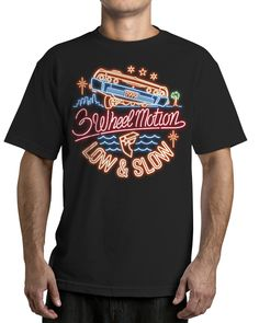 Famous Stars and Straps 3 Wheel Motion T-Shirt - West Coast Republic