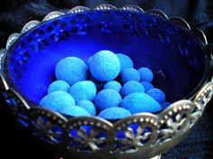 Blue anil balls, mexican blueing balls, for hoodoo luck, success