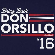 "Chowdaheadz ""Bring Back Don Orsillo 2016"" Unisex Adult T-Shirt in Navy, $20+ via Chowdaheadz.Com (View #2 of 3)"