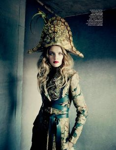 Natalia Vodianova | Photography by Paolo Roversi | For Vogue Magazine Russia | December 2014