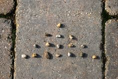 """Stone """"Nim"""" Game- probably originating from Chinese Jian Shi Zi in the 15th C. Easy strategy game: """"math around the world"""" series."""