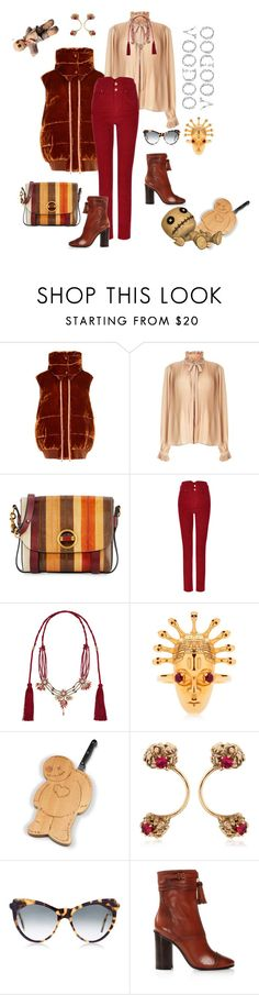 """Fashion is no voodoo"" by juliabachmann ❤ liked on Polyvore featuring STELLA McCARTNEY, Miss Selfridge, Tory Burch, Étoile Isabel Marant, Gucci, Lee Renee, Voodoo Jewels and Zanzan"