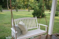This great porch swing project will not just raise the grace of your house entrance only.