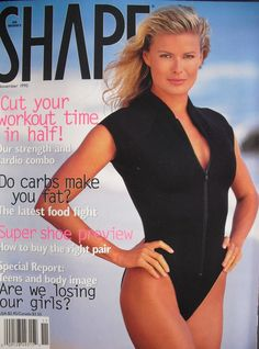 1be715b5b1eb3 Vendela Kirsebom Thomessen - Shape Magazine Cover  United States  (November  1995) 1990s