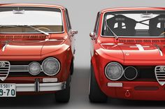 Alfa Romeo Giulia 1600 TI Super and its racing version: the Giulia Super Quadrifoglio Verde Alleggerita Alfa Romeo 4c, Alfa Romeo Cars, Carros Alfa Romeo, Carros Retro, Alfa Cars, Super Images, Alfa Romeo Giulia, Best Muscle Cars, Sports Sedan